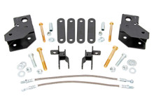 """2012-2018 Jeep Wrangler JK (2 Door) 4WD 4"""" Lift Kit - Rough Country 79130A"""