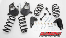 """2007-2014 Chevy/GMC/Cadillac SUV 2wd 4/5"""" Deluxe Drop Kit - McGaughys 30013"""