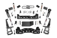 """2014 Ford F-150 4WD 4"""" Lift Kit - Rough Country 57471"""