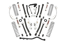 """2007-2010 Jeep Wrangler JK Unlimited 2WD/4WD 4"""" Lift Kit - Rough Country 67470"""