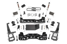 """2009-2010 Ford F-150 4WD 4"""" Lift Kit - Rough Country 59970"""