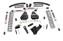 """2005-2007 Ford F-250 Super Duty 4WD 6"""" Lift Kit - Rough Country 59670"""
