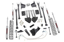 """2008-2010 Ford F-250 Super Duty 4WD 8"""" Lift Kit - Rough Country 592.2"""