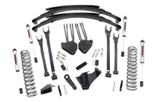 """2005-2007 Ford F-250 Super Duty 4WD 6"""" Lift Kit - Rough Country 58370"""