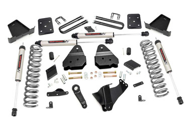"""2015-2016 Ford F-250 Super Duty 4WD 4.5"""" Lift Kit - Rough Country 53470"""