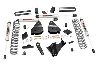 """2011-2014 Ford F-250 Super Duty 4WD 4.5"""" Lift Kit - Rough Country 53070"""