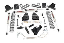 """2008-2010 Ford F-250 Super Duty 4WD 4.5"""" Lift Kit - Rough Country 47870"""