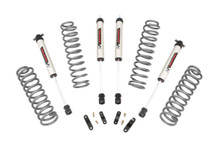 """2007-2010 Jeep Wrangler JK Unlimited 2WD 2.5"""" Lift Kit - Rough Country 67970"""