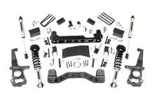 "2015-2020 Ford F-150 4WD 4"" Lift Kit W/ N3 Struts & Shocks - Rough Country 55571"