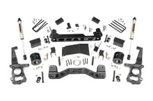 """2015-2020 Ford F-150 4WD 4"""" Lift Kit W/ Rear V2 Shocks - Rough Country 55570"""