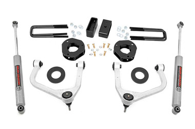 """2019-2020 Chevy Silverado 1500 2WD/4WD 3.5"""" Lift Kit - Rough Country 29531"""