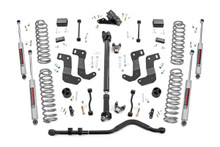 """2018-2020 Jeep Wrangler JL Unlimited 4WD 3.5"""" Lift Kit - Rough Country 69031"""