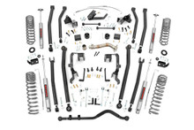 """2012-2018 Jeep Wrangler JK Unlimited 4WD 4"""" Lift Kit - Rough Country 78630A"""