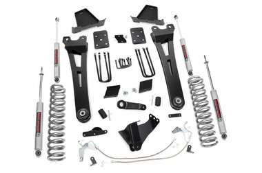 """2015-2016 Ford F-250 Super Duty 4WD 6"""" Lift Kit - Rough Country 543.2"""