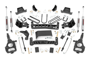 """1998-2011 Ford Ranger 4WD 5"""" Lift Kit - Rough Country 43130"""