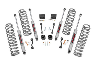 """2018-2020 Jeep Wrangler JL Unlimited 4WD 2.5"""" Lift Kit - Rough Country 67731"""