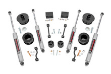 "2018-2020 Jeep Wrangler JL (2 Door) 4WD 2.5"" Lift Kit - Rough Country 67730"