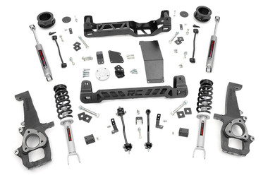 """2012-2018 Dodge Ram 1500 4WD 4"""" Lift Kit - Rough Country 33332"""
