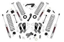 "2007-2010 Jeep Wrangler JK Unlimited 2WD/4WD 3.5"" Lift Kit - Rough Country 69430"