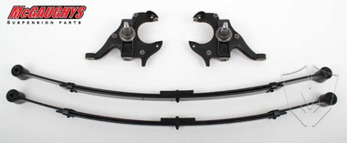 "2/3"" Chevy S10 Deluxe Lowering Kit w/ Leaf Springs"