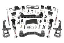 "2015-2020 Ford F-150 4WD 6"" Lift Kit W/ N3 Struts & Rear Shocks - Rough Country 55731"