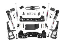 """2011-2013 Ford F-150 4WD 4"""" Lift Kit - Rough Country 57432"""
