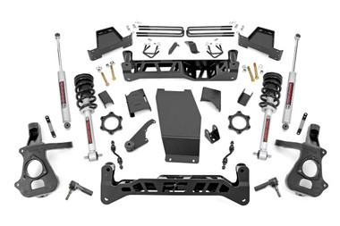 "2014-2018 Chevy Silverado 1500 4WD 7"" Lift Kit - Rough Country 22833"