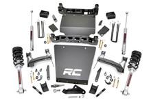 "2014-2018 Chevy Silverado 1500 4WD 5"" Lift Kit - Rough Country 29133"
