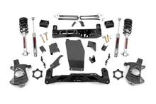 "2014-2018 Chevy Silverado 1500 4WD 5"" Lift Kit - Rough Country 22434"