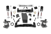 "2014-2018 Chevy Silverado 1500 4WD 5"" Lift Kit - Rough Country 22333"