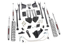 """2011-2014 Ford F-250 Super Duty 4WD 6"""" Lift Kit - Rough Country 532.2"""