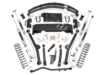 """1984-2001 Jeep Cherokee XJ 4WD 6.5"""" Lift Kit - Rough Country 67222"""