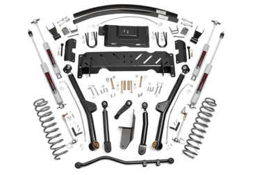 """1984-2001 Jeep Cherokee XJ 4WD 4.5"""" Lift Kit - Rough Country 61622"""
