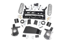 """2007-2014 Chevy Suburban 1500 2WD/4WD 5"""" Lift Kit - Rough Country 28100"""