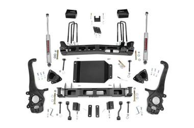 "2004-2015 Nissan Titan 2WD/4WD 4"" Lift Kit - Rough Country 874.2"