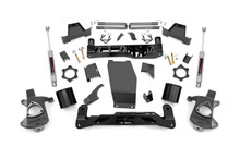 "2014-2017 Chevy Silverado 1500 4WD 6"" Lift Kit - Rough Country 22635"