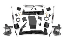 "2014-2018 Chevy Silverado 1500 4WD 5"" Lift Kit - Rough Country 22431"