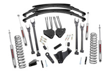 """2005-2007 Ford F-250 Super Duty Diesel 4WD 6"""" Lift Kit - Rough Country 583.2"""