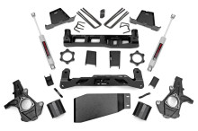 "2007-2013 Chevy Silverado 1500 4WD 6"" Lift Kit - Rough Country 23630"
