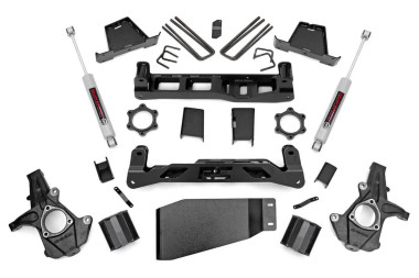 "2007-2013 Chevy Silverado 1500 4WD 6"" Lift Kit - Rough Country 23630"