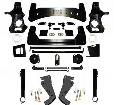 "2015-2020 GM SUV 1500 2wd/4wd W/ Magnaride / Autoride 9"" Full Throttle Lift Kit"