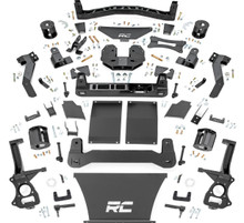 """2021 Chevy Suburban W/O Adaptive Ride Control 6"""" Suspension Lift Kit - Rough Country 10900"""