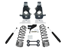 "2009-2018 Dodge RAM 1500 2wd 2/4"" Premium Spindle Drop Kit W/ Dual Rate Rear Coils- K440050"