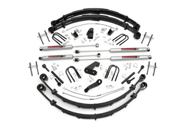 """1987-1995 Jeep Wrangler YJ 4WD 6"""" Lift Kit - Rough Country 622M.20"""