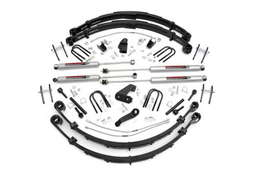 """1987-1995 Jeep Wrangler YJ 4WD 6"""" Lift Kit - Rough Country 622N2"""