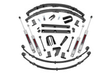 """1987-1995 Jeep Wrangler YJ 4WD 4"""" Lift Kit - Rough Country 620MN2"""