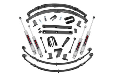 """1987-1995 Jeep Wrangler YJ 4WD 4"""" Lift Kit - Rough Country 620N2"""