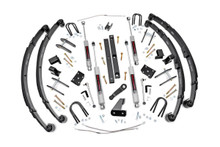 """1987-1995 Jeep Wrangler YJ 4WD 4.5"""" Lift Kit - Rough Country 617.2"""