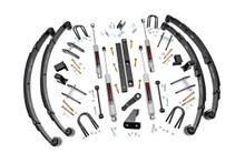 """1987-1995 Jeep Wrangler YJ 4WD 4.5"""" Lift Kit - Rough Country 614.2"""