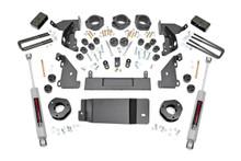 "2014-2015 Chevy Silverado 1500 4WD 4.75"" Lift Kit - Rough Country 293.2"